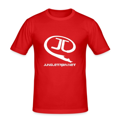 Jungletrain.net Shirt - Men's Slim Fit T-Shirt