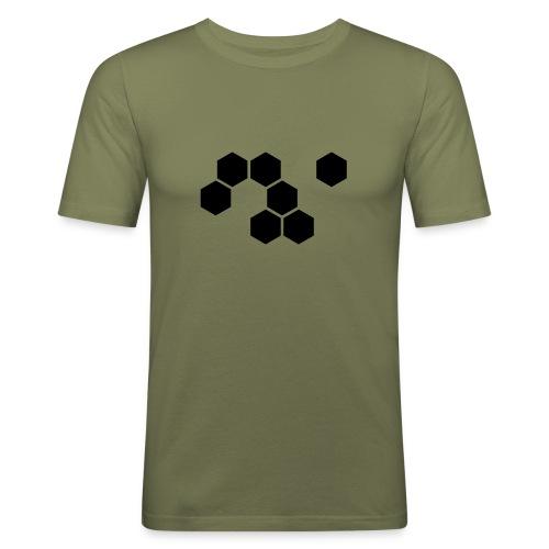 SR - T-Shirt (camel) - Männer Slim Fit T-Shirt