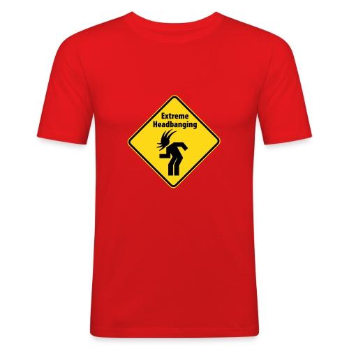 Extreme Headbanging - Männer Slim Fit T-Shirt