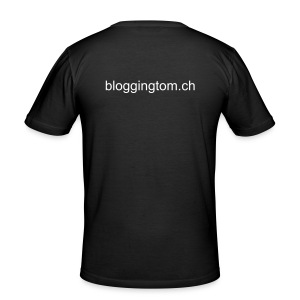 BloggingTom - Männer Slim Fit T-Shirt