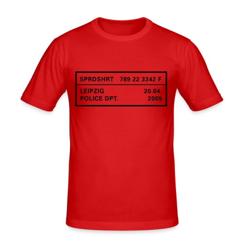 SlimFit - Männer Slim Fit T-Shirt