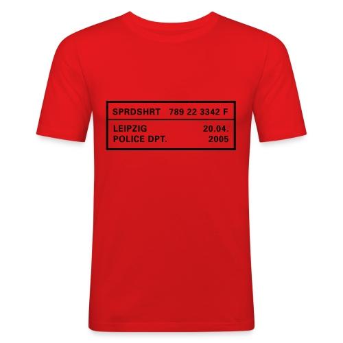 Police Dept. - Men's Slim Fit T-Shirt