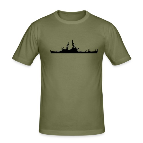 WAR SHIP - T-shirt près du corps Homme