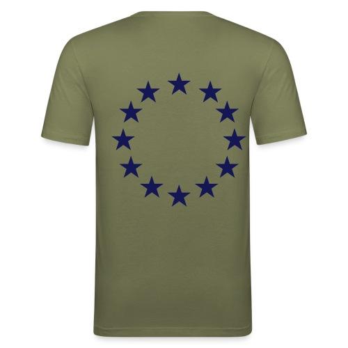 Eurotrash - Männer Slim Fit T-Shirt
