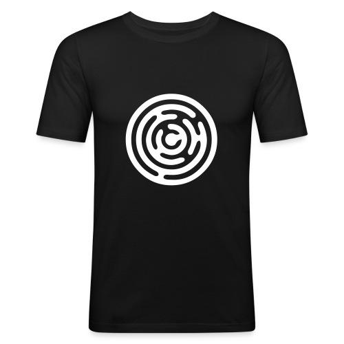 Labyrinthe Dundy - T-shirt près du corps Homme