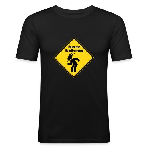 Extrem headbanging - Männer Slim Fit T-Shirt