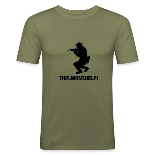 This wont help. - T-shirt près du corps Homme