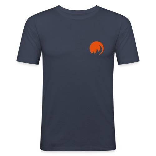 Slim Fit Waves - Männer Slim Fit T-Shirt