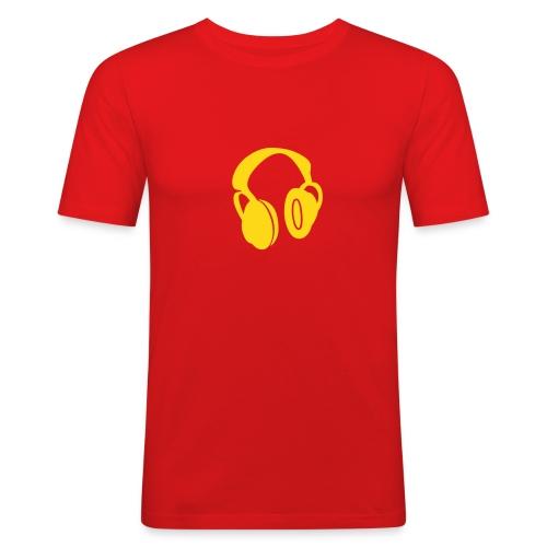 PHONEHEAD SLIM - Männer Slim Fit T-Shirt