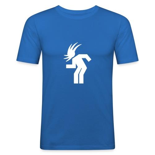 Headbanging - Blau - Männer Slim Fit T-Shirt