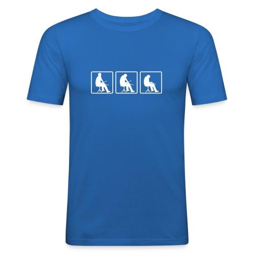 Drummer - Blau - Männer Slim Fit T-Shirt