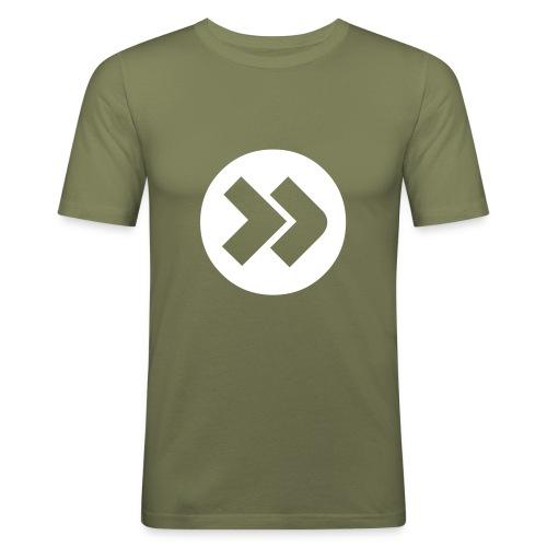 Forward - Olive - Männer Slim Fit T-Shirt