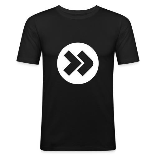 Forward - Schwarz - Männer Slim Fit T-Shirt
