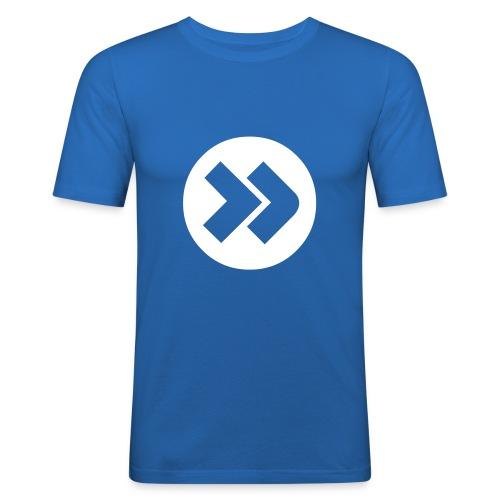 Forward - Blau - Männer Slim Fit T-Shirt