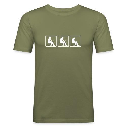 Drummer - Olive - Männer Slim Fit T-Shirt