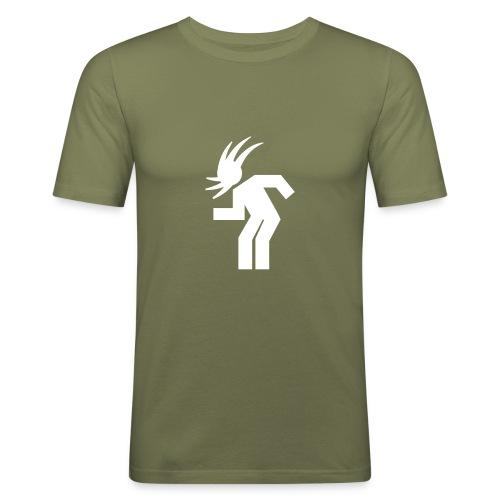 Headbanging - Olive - Männer Slim Fit T-Shirt