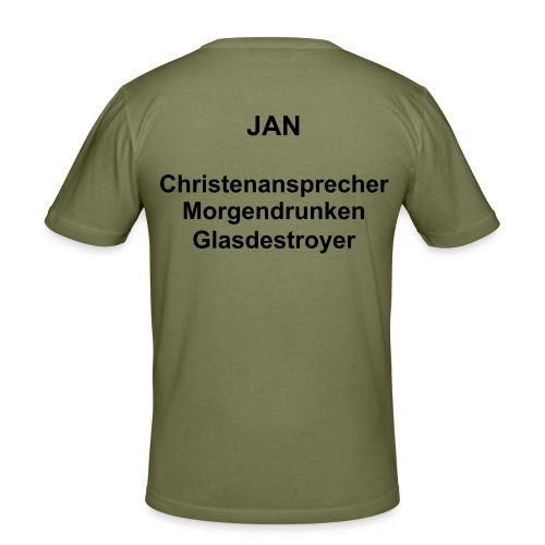 JAN 2 - Männer Slim Fit T-Shirt