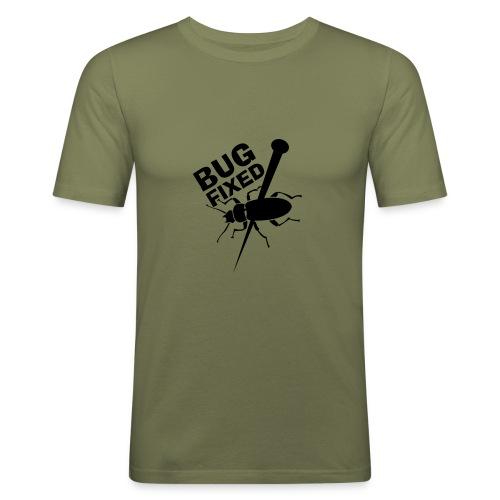 Bug Fixed - Männer Slim Fit T-Shirt