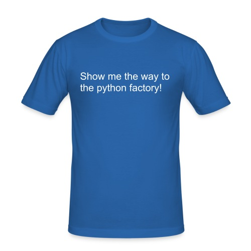 Python Factory - Men's Slim Fit T-Shirt