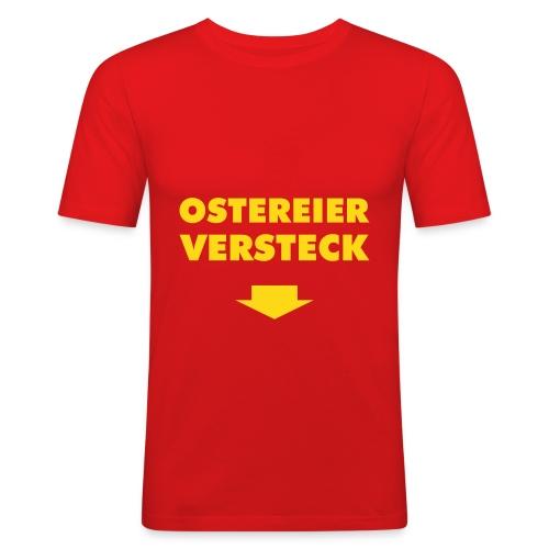 Ostereierversteck - Männer Slim Fit T-Shirt