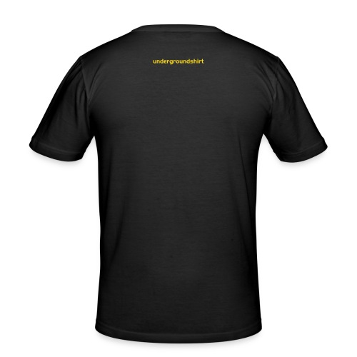 Protection T black GoA - Männer Slim Fit T-Shirt