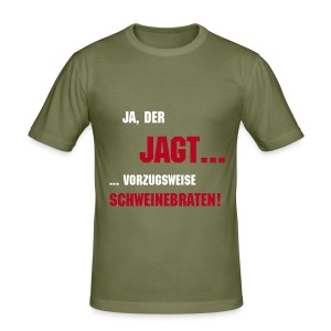 Jagen - Männer Slim Fit T-Shirt