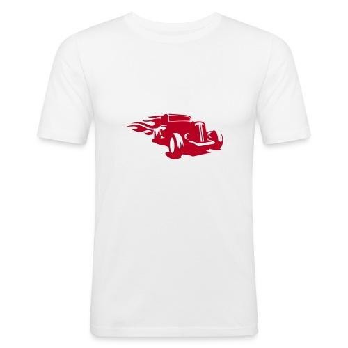 Car Hotrod - Männer Slim Fit T-Shirt