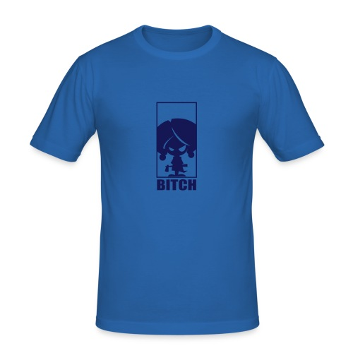 B*tch - T-shirt près du corps Homme
