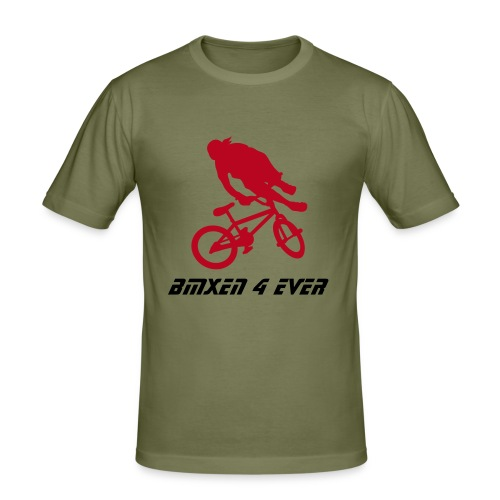 BMXen 4 Ever - Männer Slim Fit T-Shirt