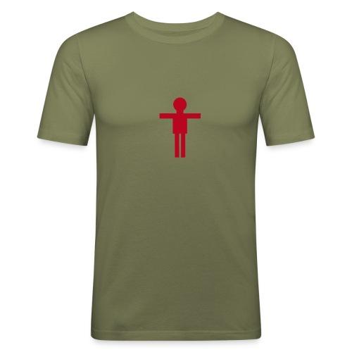 Obcisła koszulka męska