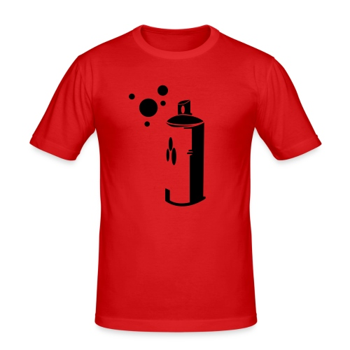 Spray Can T - Men's Slim Fit T-Shirt