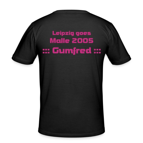 Gumfred - Männer Slim Fit T-Shirt