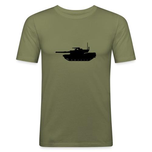 Tank Shirt Three - Männer Slim Fit T-Shirt