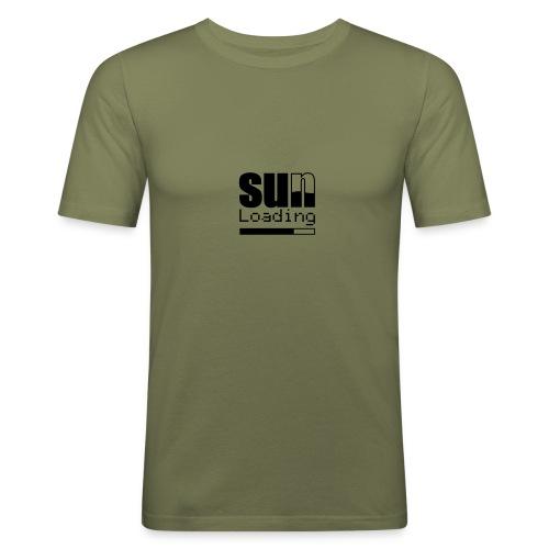 Sun Loading - Männer Slim Fit T-Shirt