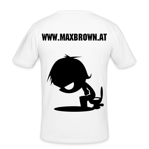 Max Brown T-Shirt - Men's Slim Fit T-Shirt