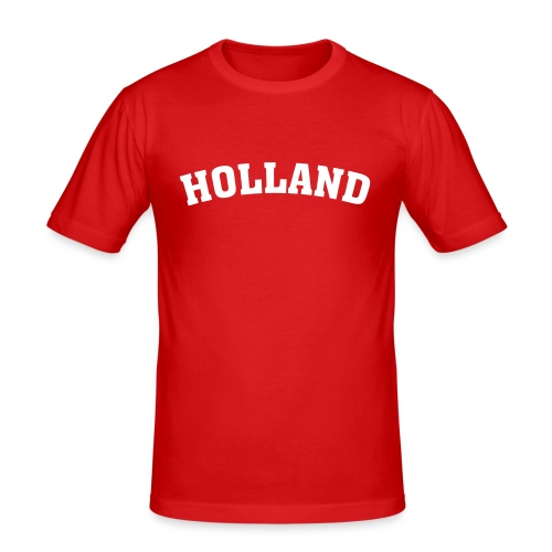 Fanshirt Holland - Männer Slim Fit T-Shirt