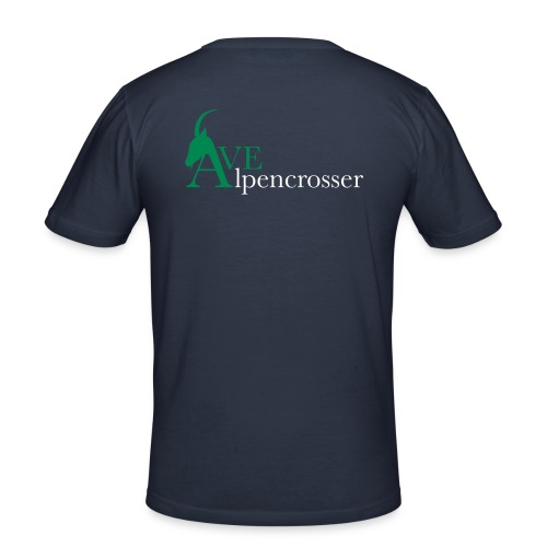 Alpencrosser Shirt - Männer Slim Fit T-Shirt