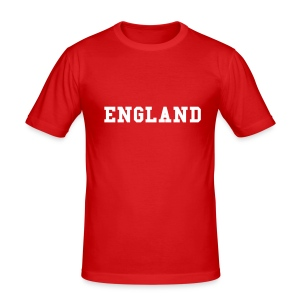 Mens Fitted England T-shirt - Men's Slim Fit T-Shirt