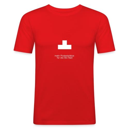 Podest - Männer Slim Fit T-Shirt