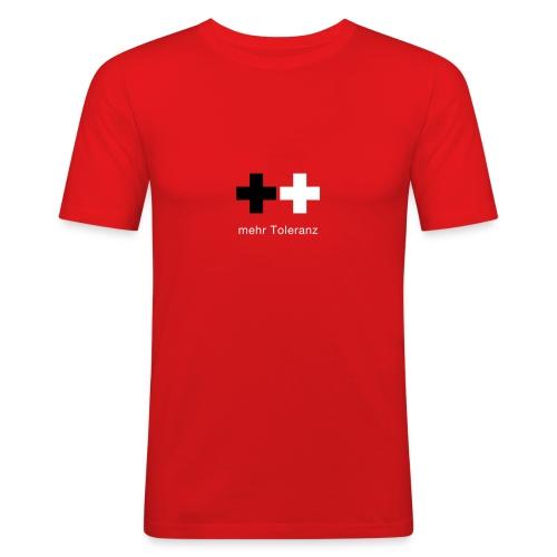 Toleranz - Männer Slim Fit T-Shirt