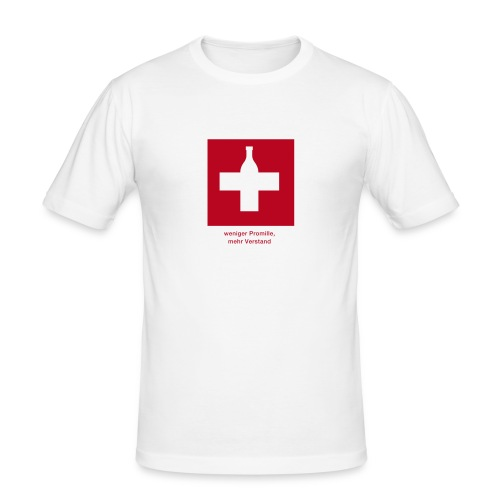 Promille - Männer Slim Fit T-Shirt