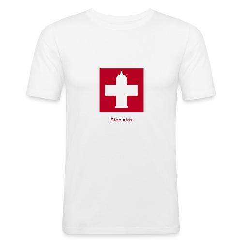 Aids - Männer Slim Fit T-Shirt