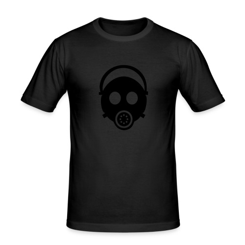 Gasmask b/b - Männer Slim Fit T-Shirt