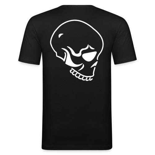 Männer T-Shirt schwarz - Männer Slim Fit T-Shirt