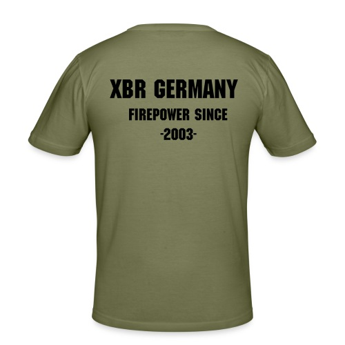 Firepower 2003 Slim Fit - Männer Slim Fit T-Shirt
