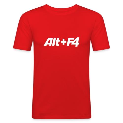 ALT+F4 - Men's Slim Fit T-Shirt