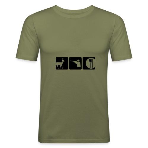 Mmmm deer - Men's Slim Fit T-Shirt
