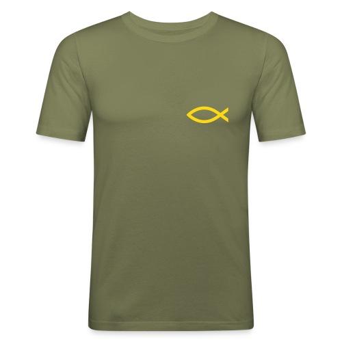IXTHYS -Fisch - Männer Slim Fit T-Shirt