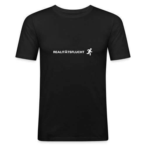 Realitätsflucht - Männer Slim Fit T-Shirt