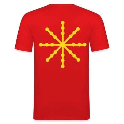 Mens Flake - Men's Slim Fit T-Shirt